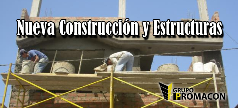 nueva constru Nueva Construcción y Estructuras