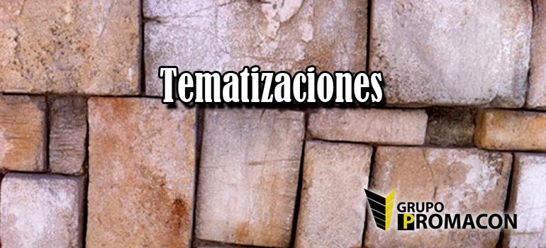 tematizaciones1 Tematizaciones e Instalaciones Singulares